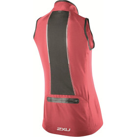 2XU Microclimate Reflector Vest Women Coral Rose/Charcoal